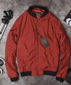 áo khoác gió bomber nam phối họa tiết trẻ trung năng động dạo phố
