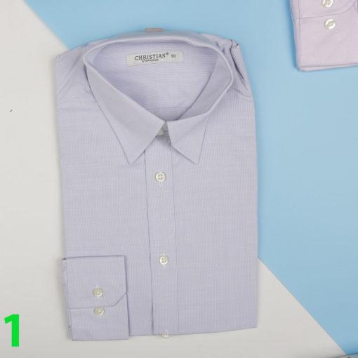 sơ mi nam chất vải cotton cao cấp phom rộng size s m l xl