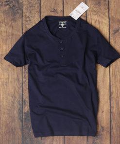 áo phông nam henley vnxk dáng slimfit
