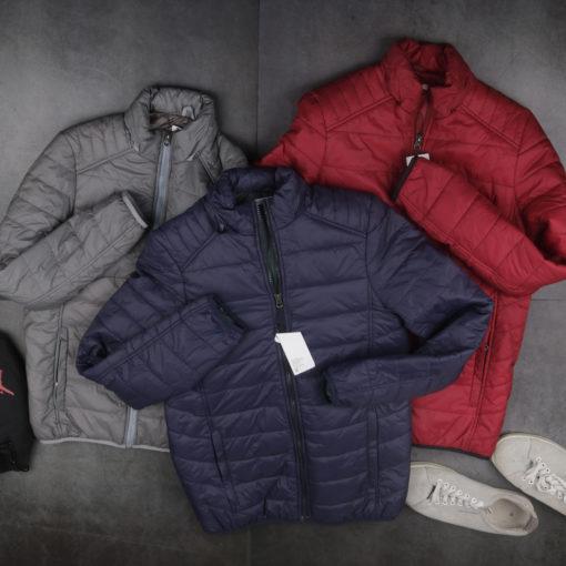 áo phao siêu nhẹ việt nam xuất khẩu siêu nhẹ màu xanh navy đỏ ghi