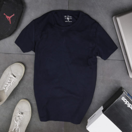 Áo phông nam cổ tròn chất liệu cotton 100%