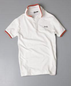 Áo phông nam xuất khẩu phối viền cổ nam