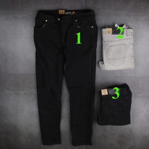 quần jeans nam xuất khẩu màu đen vải co giãn giá chỉ 2xx